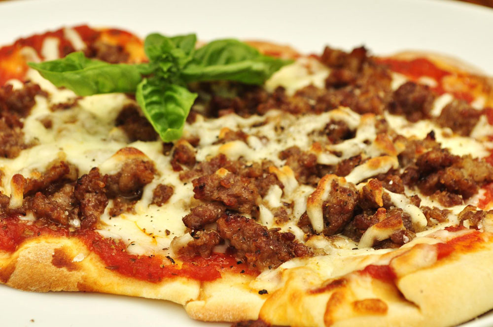 Non-GMO Ingredients on Pizza
