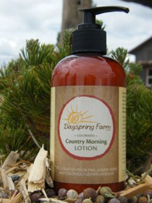 Colorado Organic Country Morning Lotion