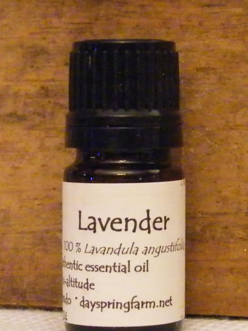 Lavender Authentic Essential Oil crafted in Colorado