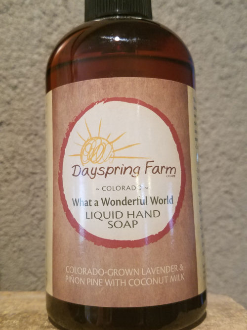 Organic Liquid Handsoap in Colorado
